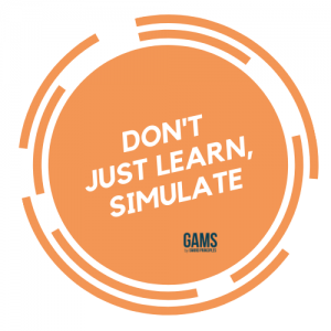 Don't just learn simulate GAMS